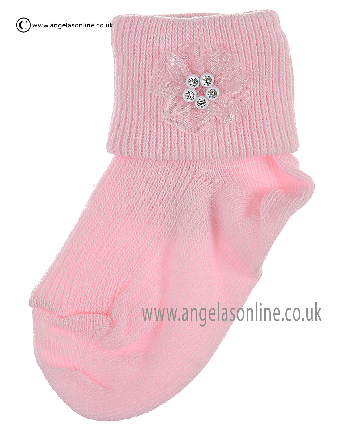 Baby Girls Pink Accsessory Sock Newborn Pretty