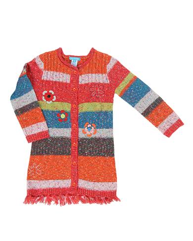 Deux par Deux knitted long cardigan  FS39