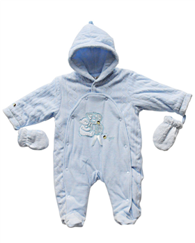 ZZ0202A blue snowsuit