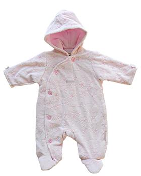 ZZ 0230 pink snowsuit