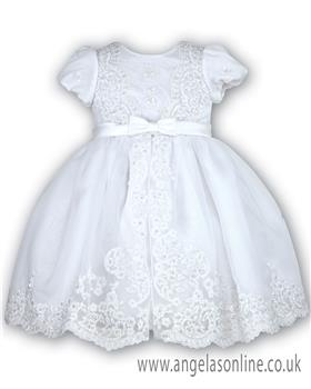 Sarah Louise  Christening dress  070012-9400 White