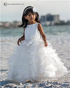 Sarah Louise Communion dress  9946 070040-2 White