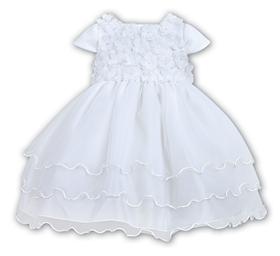 Sarah Louise Christening dress 9409 White
