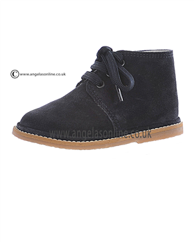 Borboleta Boys Smart Suede Navy Winter Boot 1416