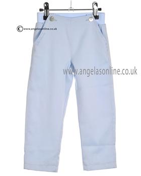 Tutto Piccolo Baby Boys Pale Blue Trousers 7123
