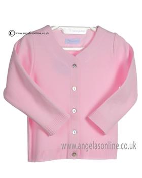 Laranjinha Baby Girls Pink Cardigan 5266