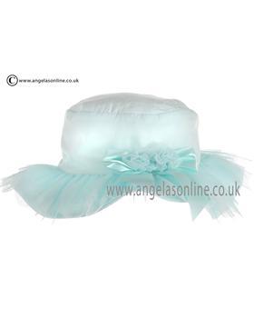 Kate Mack Baby Girls Aqua Blue Hat 660SLAX
