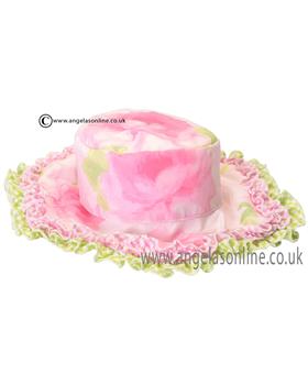 Kate Mack Girls Pink Sun Hat 706GSBX