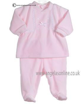 Babidu Baby Girls Pink Two Piece 1921