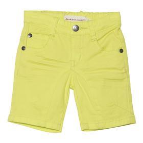 Deux par Deux Boys Citrus Yellow Shorts X27