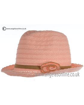 Mayoral Hat 10535 Peach