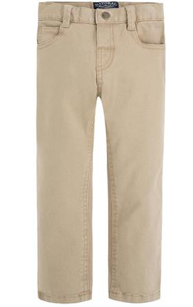 Mayoral Boys Five Pocket Twill Trouser 41 Beige