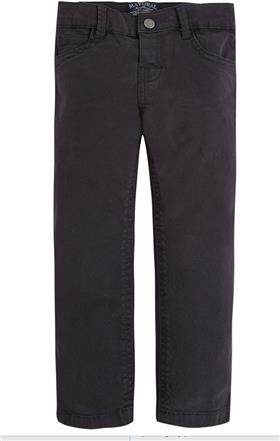 Mayoral Boys Five Pocket Twill Trousers  Dark Grey 41