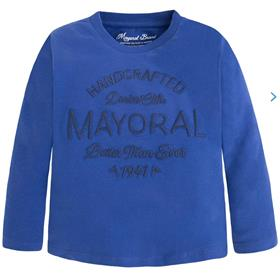 Mayoral Boys Long Sleeve Top 173 Blue