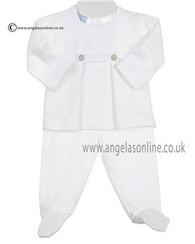 Babidu Baby Boys 2 Piece 58120 Grey