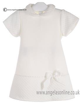 Bufi Baby Girls Dress 9124A2 Cream