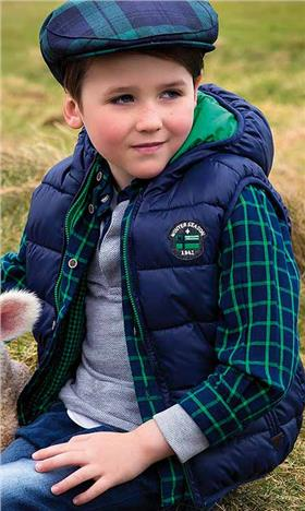Mayoral Boys Gilet Body Warmer 4423 Green