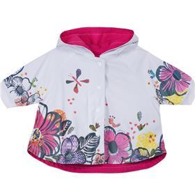 Catimini Girls Raincoat CH42011 White
