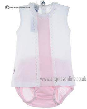 Babidu Baby Girls Top/Jam Pants 44300 Pink