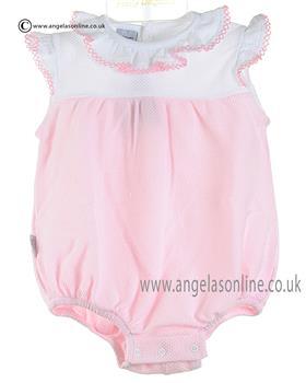 Babidu Baby Girls Romper 12300 Pink