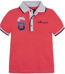 Mayoral Boys T-Shirt 3112 Coral