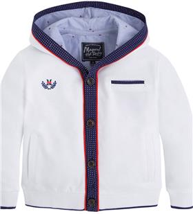 Mayoral Boys Hoody 3440 White