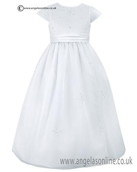 Sarah Louise girls Communion dress 090017