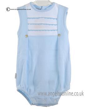 Babidu Baby Boys Romper 11300 Blue
