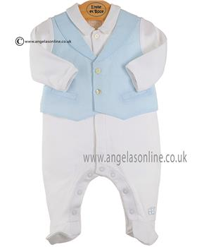 Emile et Rose Boys Waistcoat All in one 1550 pb