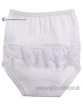 Babidu Baby Girls Knicks 2103 White