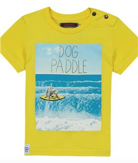 Catimini Boys T-shirt CH10022 Yellow