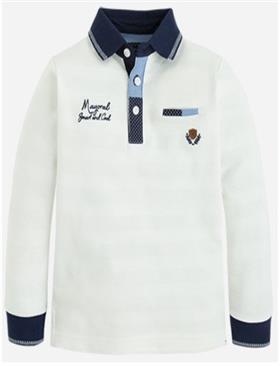 Mayoral Boys T-Shirt 4100-16 Cream