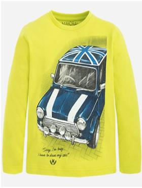 Mayoral Boys T-Shirt 4016-16 Lime