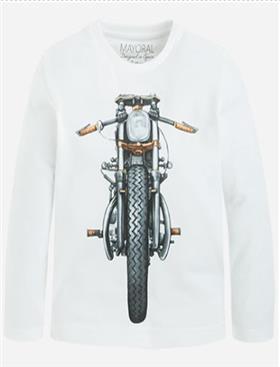 Mayoral Boys T-Shirt 4036-16 White