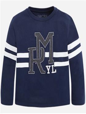 Mayoral Boys T-Shirt 4014-16 Navy
