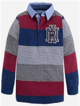Mayoral Boys T-Shirt 4104-16 Blue