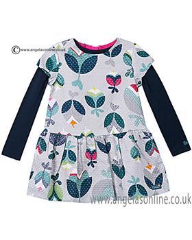 Catimini girls dress & T shirt CI30283