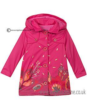 Catimini girls pvc coat CI42053