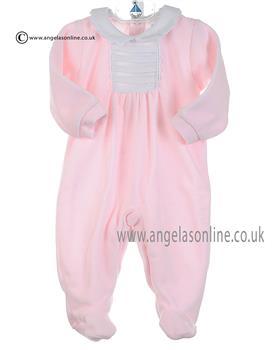 Babidu Baby girls all in one 19125 Pink