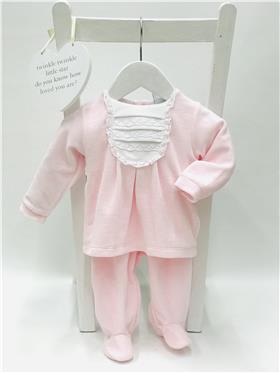Babidu baby girls two piece suit 19105