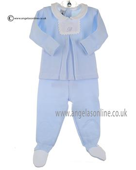 Babidu baby boy 2 Piece 52165 Blue