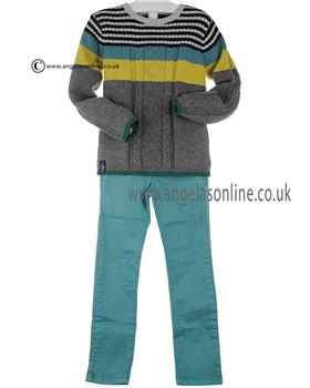 Catimini boys jumper & trouser CI18032-22012