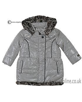 Catimini Girls Padded Coat CI44073-16 Black