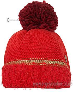Catimini Girls Bobble Hat CI90023 Red