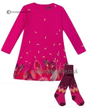 Catimini girls jersey dress CI30113-94073