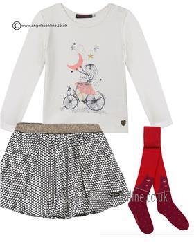 Catimini girls outfit CI10073/27113/94013