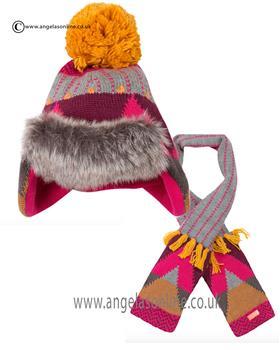 Catimini girls hat & scarf CI90073-90083