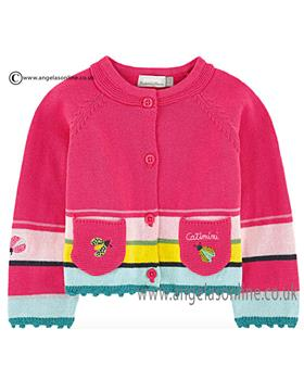 Catimini girls knitted cardigan CJ18031