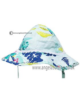 Catimini girls floral summer hat CJ90061