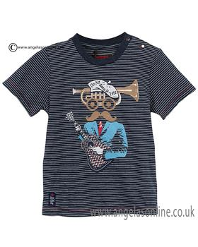 Catimini boys round neck T shirt CJ10082 Navy